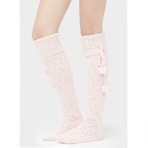 Ugg Sparkle Cable Knit Sock